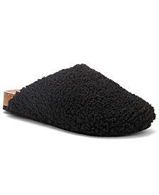 Olivia Miller Women's Plush Furry Slide Slippers