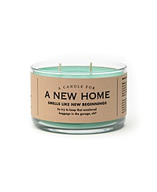 A Candle for A New Home, 17 oz