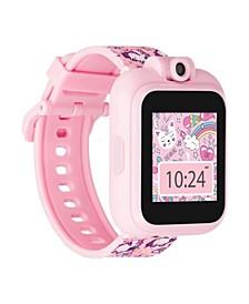 Kid's Playzoom 2 Pink Unicorn Print Tpu Strap Smart Watch 41mm