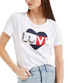 Embellished Print T-Shirt