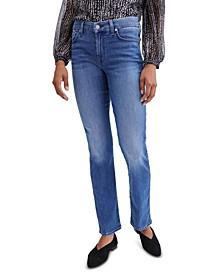 Straight-Leg Capri Jeans
