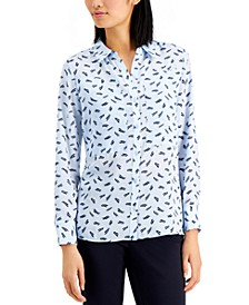 Printed Button Shirt, Created for Macy's