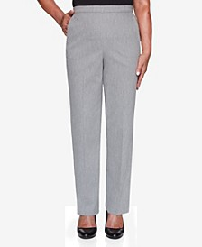 Women's Missy Glacier Lake Peach Sateen Proportioned Short Pant