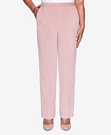 Women's Missy St. Moritz Textured Proportioned Medium Pant