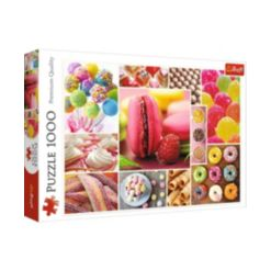 Jigsaw Puzzle Candy Collage, 1000 Piece