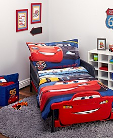 Toddler Boy's Cars 3 Top Speed Bed Set, 4 Piece