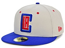 Los Angeles Clippers Stone 2 Tone 59FIFTY Cap