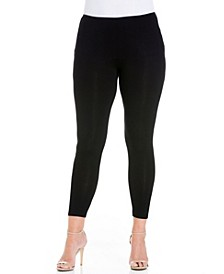 Women's Plus Size Comfortable Ankle Length Leggings