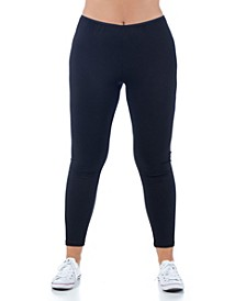 Women's Plus Size Comfortable Ankle Length Stretch Leggings