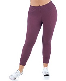Women's Plus Size Ankle Cuff Sweatpants