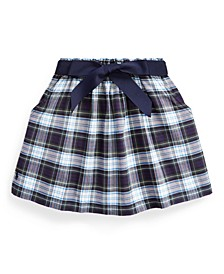 Little Girls Tartan Plaid Oxford Skirt