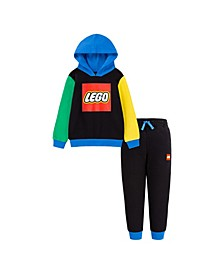 LEGO Little Boys Fleece Hoodie and Joggers Set