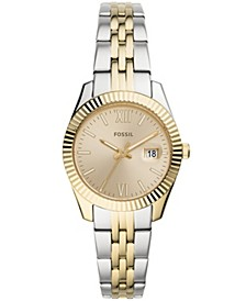 Women's Scarlette Mini Two-Tone Bracelet Watch 32mm