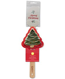 Spatula with Tree Cookie Cutter