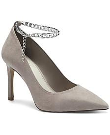 Women's Peddya Ankle Chain Pumps