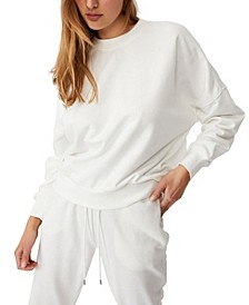 Women's Cleo Balloon Sleeve Crew Sweater