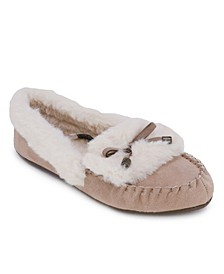 Clearwater Fold Faux Fur Slippers