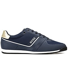 Men's Glaze Faux Leather Sneaker