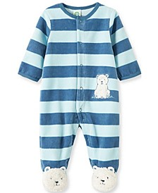 Baby Boy Polar Bear Footie