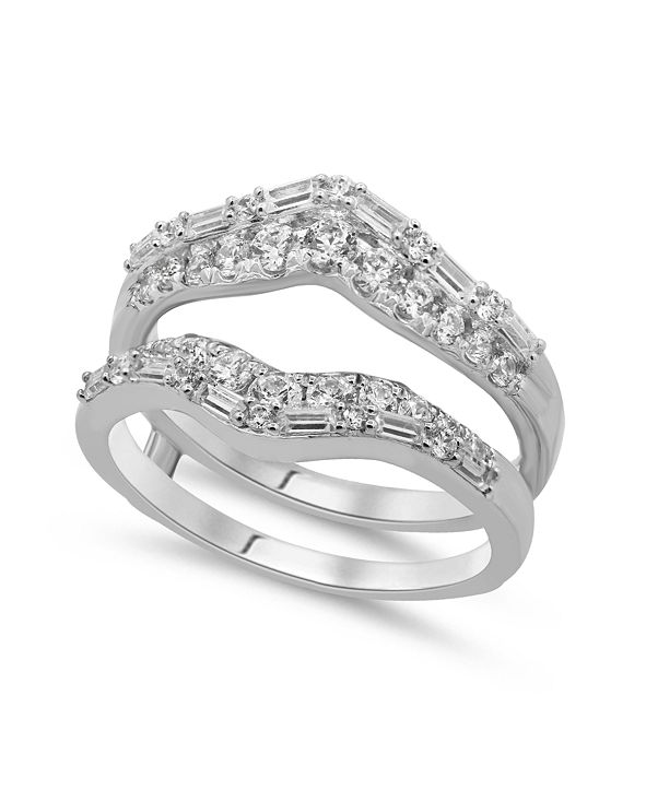 Macy's Diamond Enhancer Ring Guard (1 ct. t.w.) in 14K White or Yellow Gold