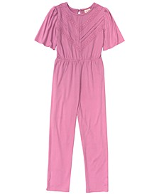 Big and Little Girls Self Esteem SS Jumpsuite