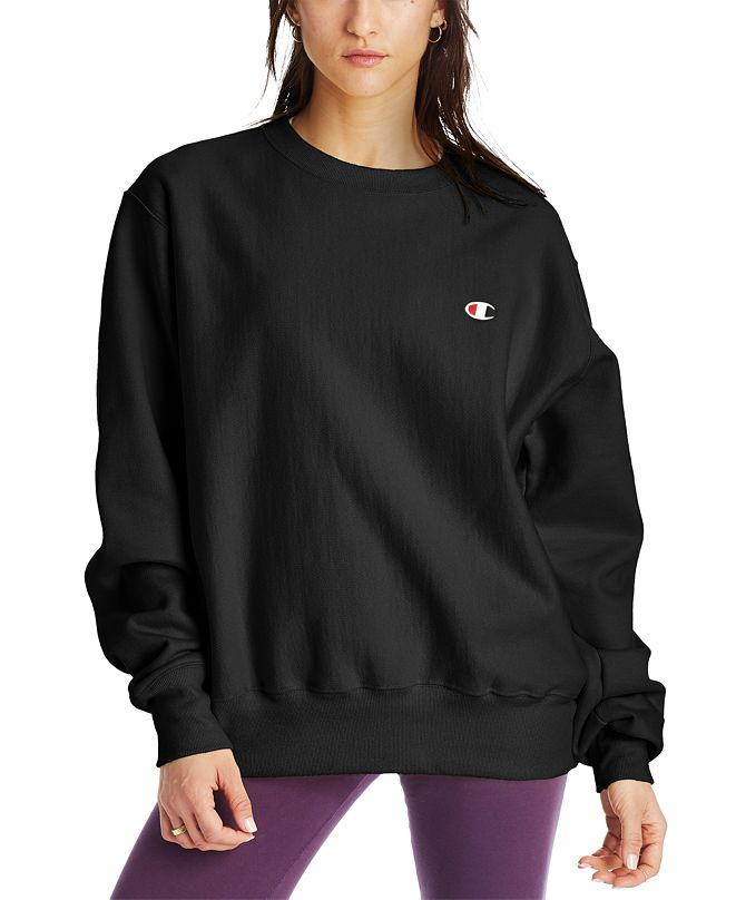 Champion Women's Boyfriend Logo Sweatshirt