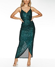 Sequined Bodycon Gown