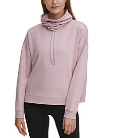Face Mask Funnel Neck Top