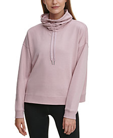 Calvin Klein Performance Face Mask Funnel Neck Top