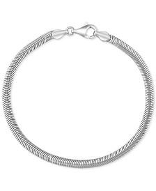 EFFY® Men's Link Bracelet in Sterling Silver