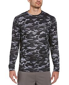 Men's Camouflage-Printed Long-Sleeve Shirt