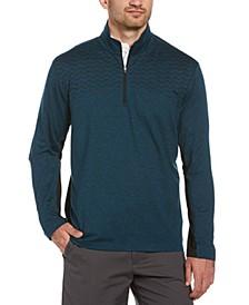 Men's Wrinkle-Resistant Quarter-Zip Jacket