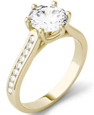 Moissanite Engagement Ring (1-5/8 ct. t.w. Dew)
