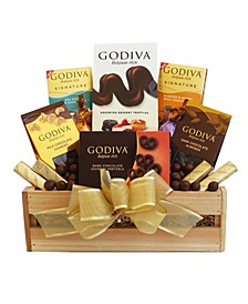 Godiva Holiday Sampler Gift Crate