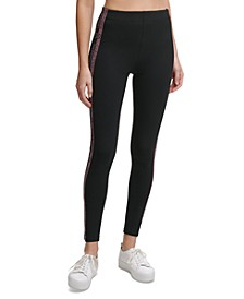 Logo-Side-Stripe Leggings