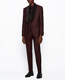 BOSS Men's Henry3/Glow2 Slim-Fit Tuxedo Suit