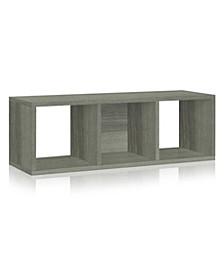 3 Cubby Storage Cozy Bench
