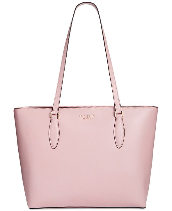 kate spade new york On Purpose Saffiano Leather Zip Top Tote