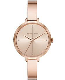 Women's Charley Gold-Tone Alloy Watch 39mm