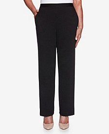 Women's Plus Size Knightsbridge Station Ponte Proportioned Pant