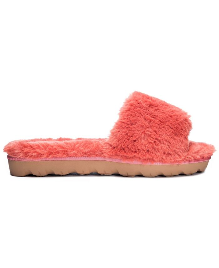 Chinese Laundry Women's Super Plush Rally Slide Slippers & Reviews - Slippers - Shoes - Macy's