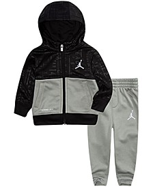 Baby Boys Therma Zip Hoodie and Pants Set