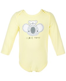 Baby Boys & Baby Girls Koala Bodysuit, Created for Macy's