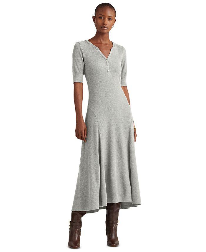 Lauren Ralph Lauren - Henley Fit-And-Flare Dress