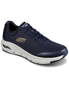 Men's Arch Fit Extra Wide Width Walking Sneakers from Finish Line