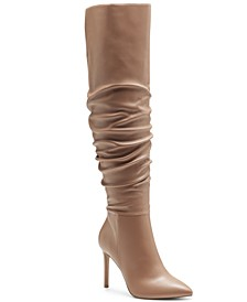 Women's Iyonna Over-The-Knee Slouch Boots, Created for Macy's