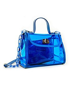 Jelly Clear See Through Satchel Set
