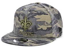 Men's New Orleans Saints Worn Camo 9FIFTY Cap