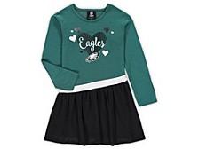 Philadelphia Eagles Toddler Girls Tunic Dress