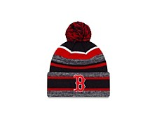 Boston Red Sox Striped Marled Knit